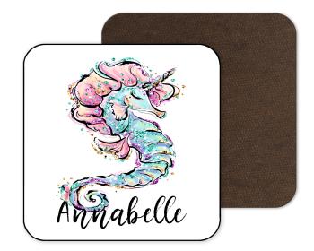 Seahorse Mermaid Coaster