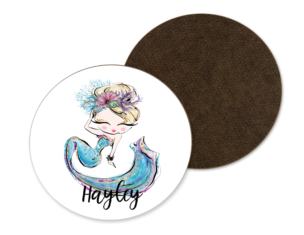 Fair Haired Mermaid Coaster