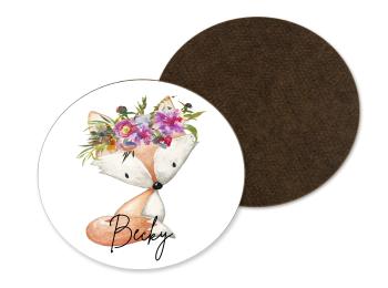 Floral Fox Coaster
