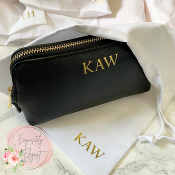 Initial Personalised Make Up / Toiletry Bag