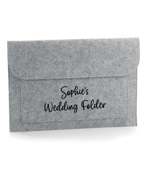 Wedding Planning Folder