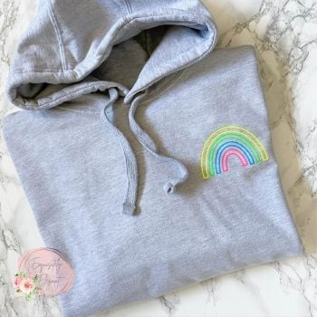 Super Soft Neon Mini Rainbow Hoodie