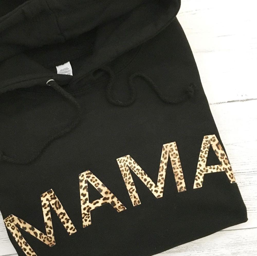 Mama Leopard Hoodie