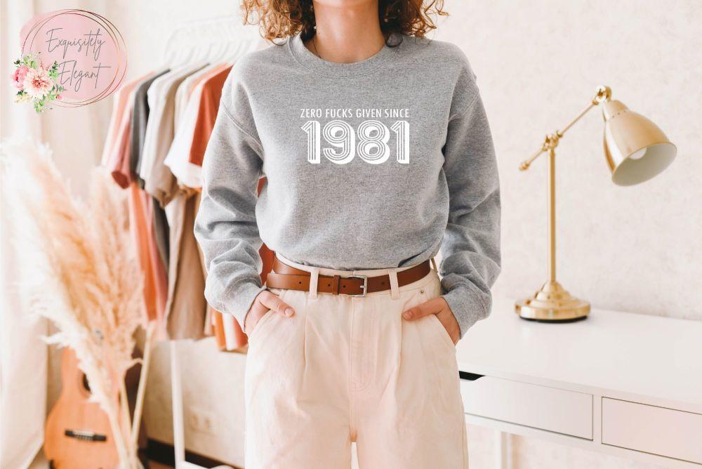 Zero F**ks Given Sweatshirt