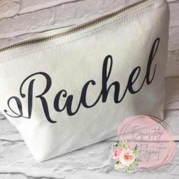Personalised Name Makeup Bag