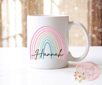 Skinny Rainbow Mug