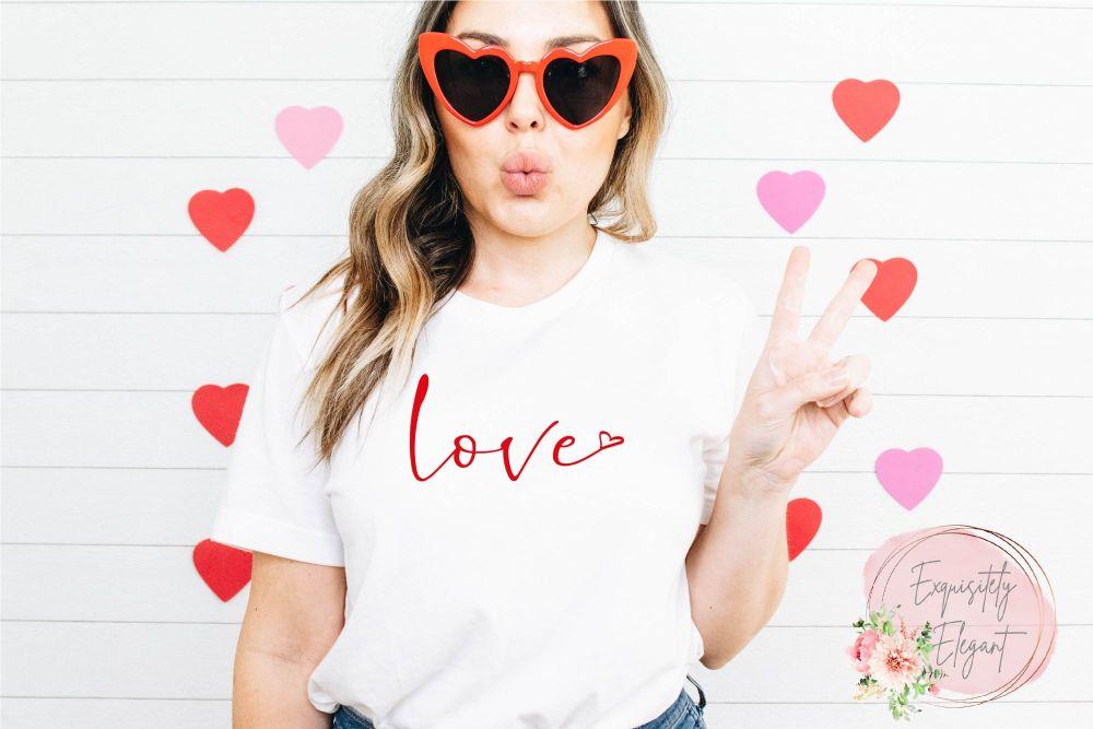 Love Heart Tee
