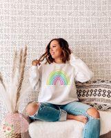 Neon Rainbow Sweatshirt