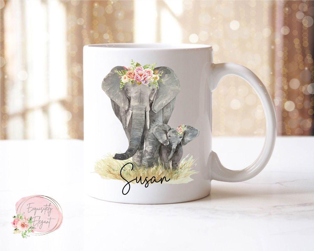 Elephant & Baby Mug