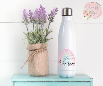 Skinny Rainbow Double Wall Bottle