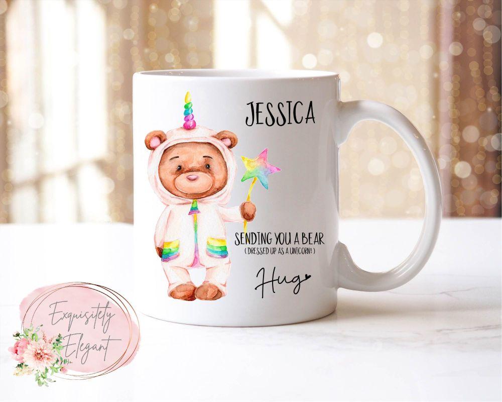 Send A Bear Hug Mug