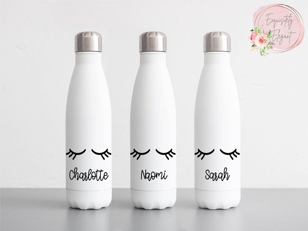 Eyelashes Double Wall Bottle