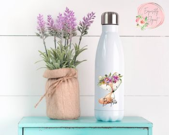 Floral Fox Double Wall Bottle
