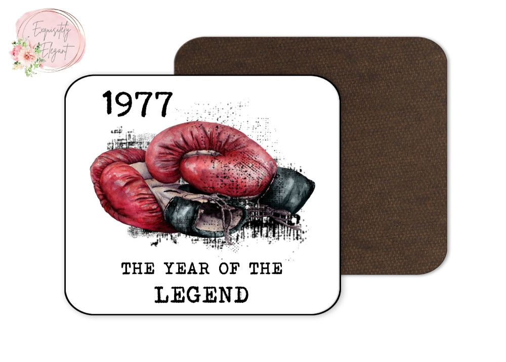 Boxing  Year Legend Coaster