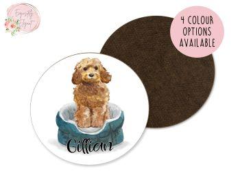 Cockapoo Dog Coaster