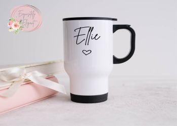 Mini Heart Travel Mug