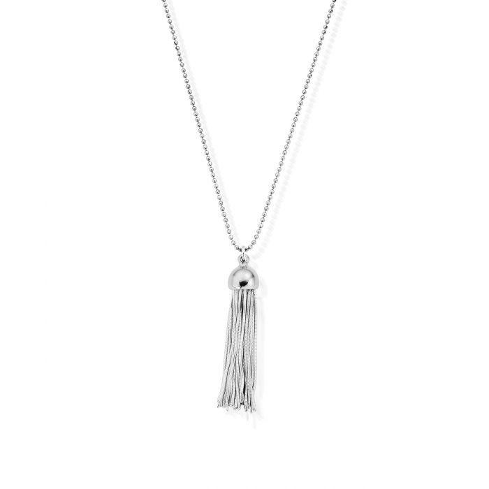 Chlobo Diamond Cut Chain With Tassel Pendant