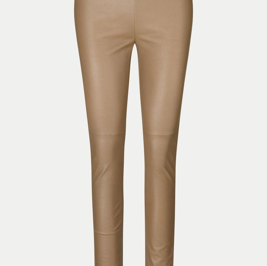 Second Female Leather Pants in Sepia Tint