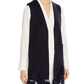 Koni Halperin Sean Sleeveless Cardigan