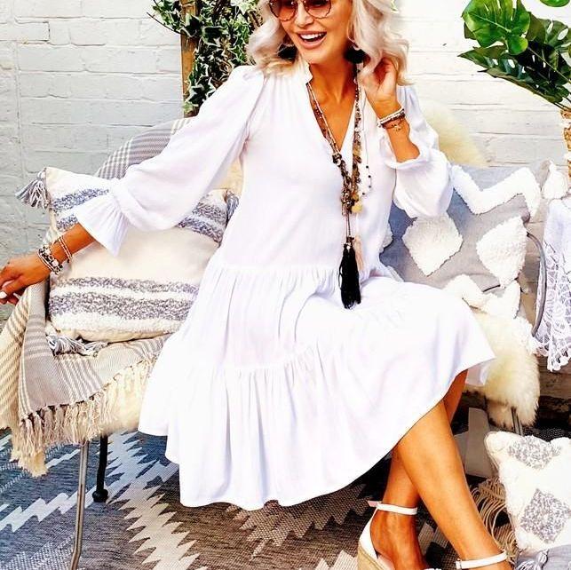 Lindsey Brown Provence Dress
