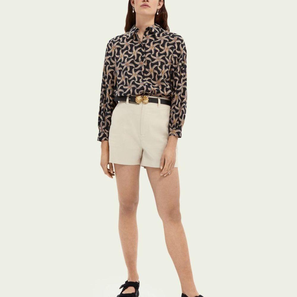 Scotch and Soda Abott Organic Cotton Chino Shorts