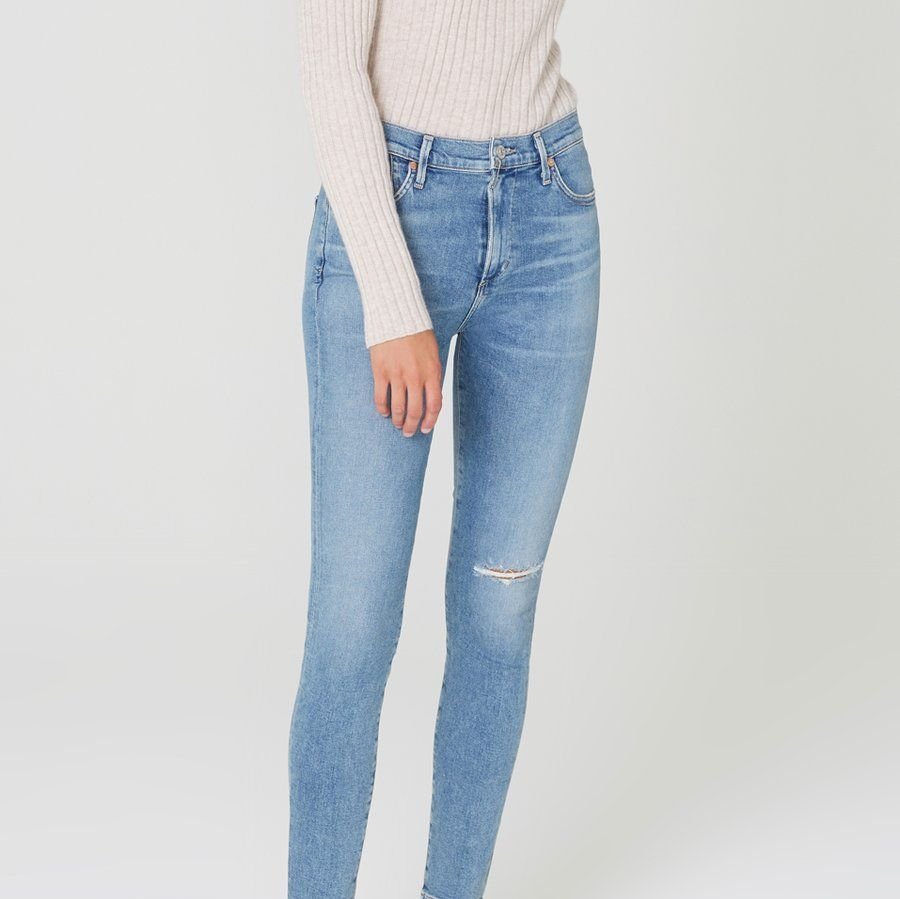 Citizens of Humanity Rocket Mid Rise Skinny Fit In Keeper