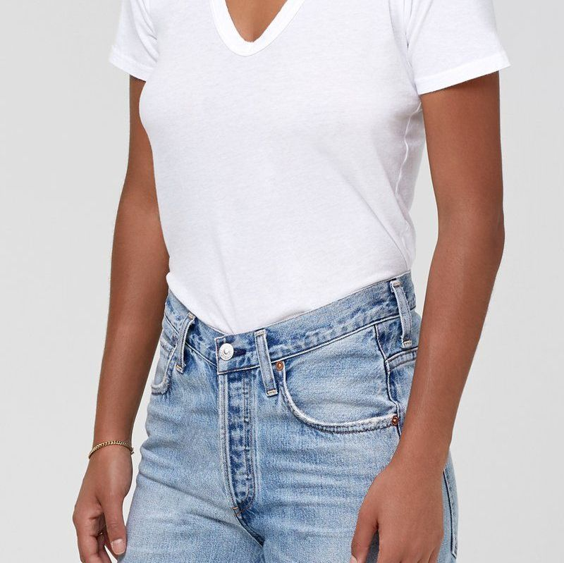 Citizens of Humanity Lilah V Neck Tee