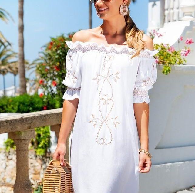 Lindsey Brown St Barts Dress