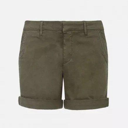 Reiko Selena Chino Shorts in Khaki