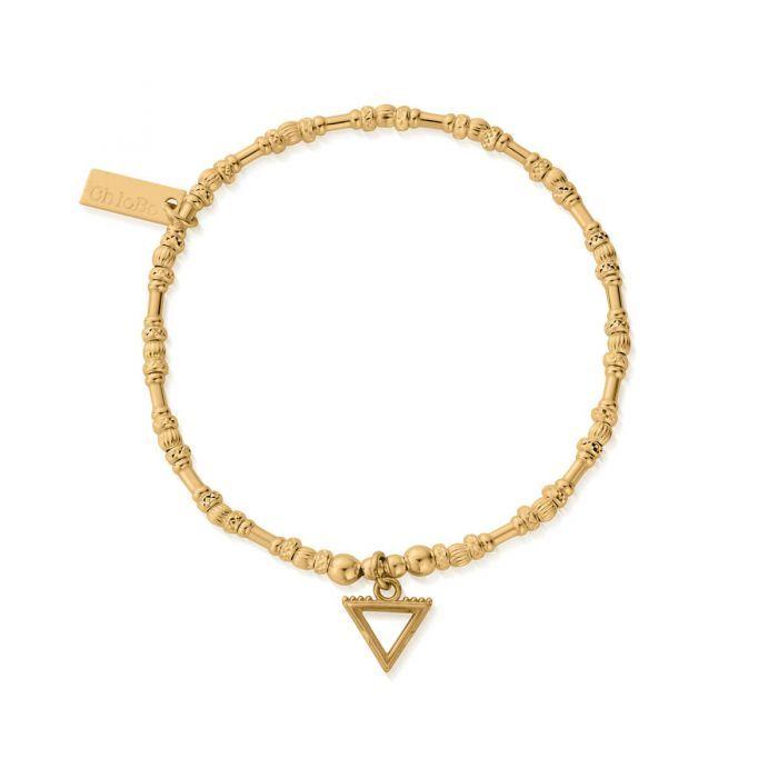 Chlobo Gold Noodle Bead Water Bracelet