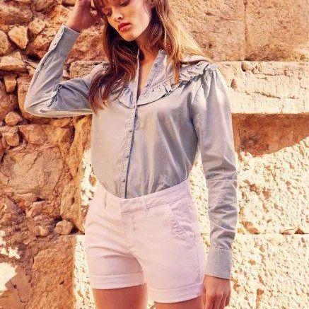 Reiko Selena Shorts - White