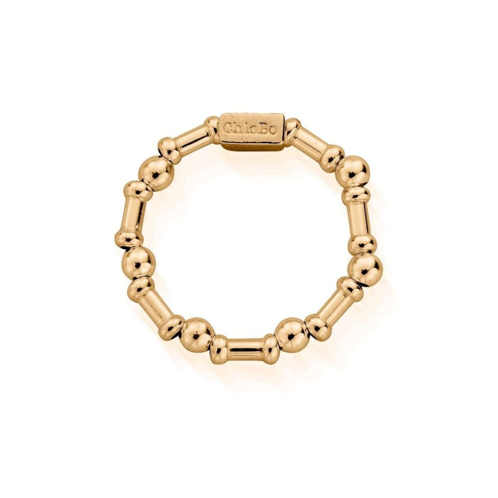 Chlobo Rhythm of Water Ring in Gold