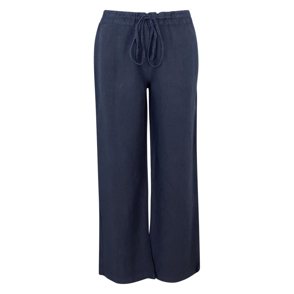 Haris Cotton Blue Marine Pants