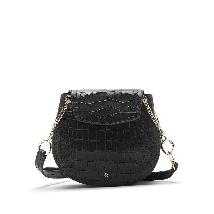 Bell & Fox Iris Cross Body/Shoulder Bag in Black