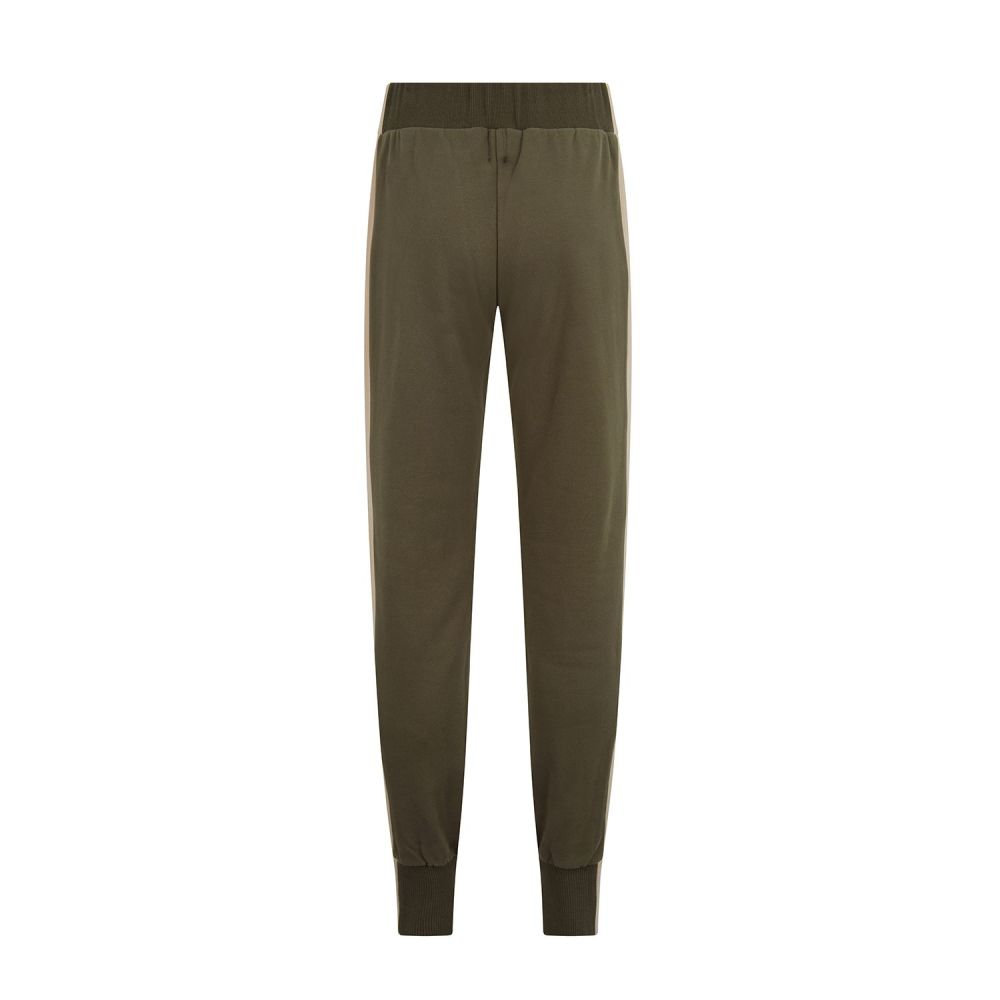 Madeleine Thompson Mabel Pants in Kahki, Pink and Oatmeal
