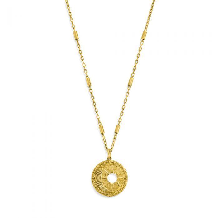 Chlobo Midnight Gaze Necklace - Gold