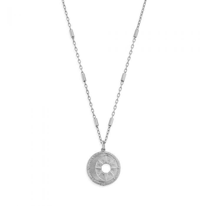 Chlobo Midnight Gaze Necklace - Silver