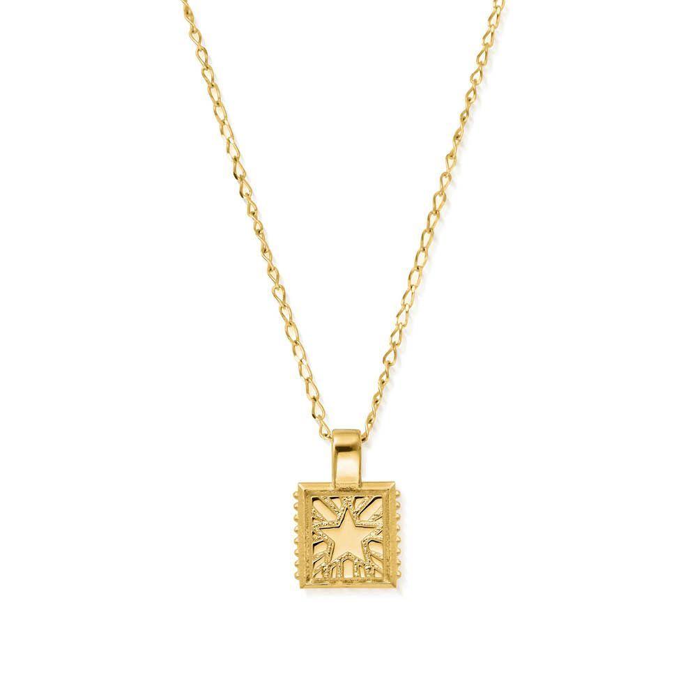 Celestial Wanderer Necklace - Gold