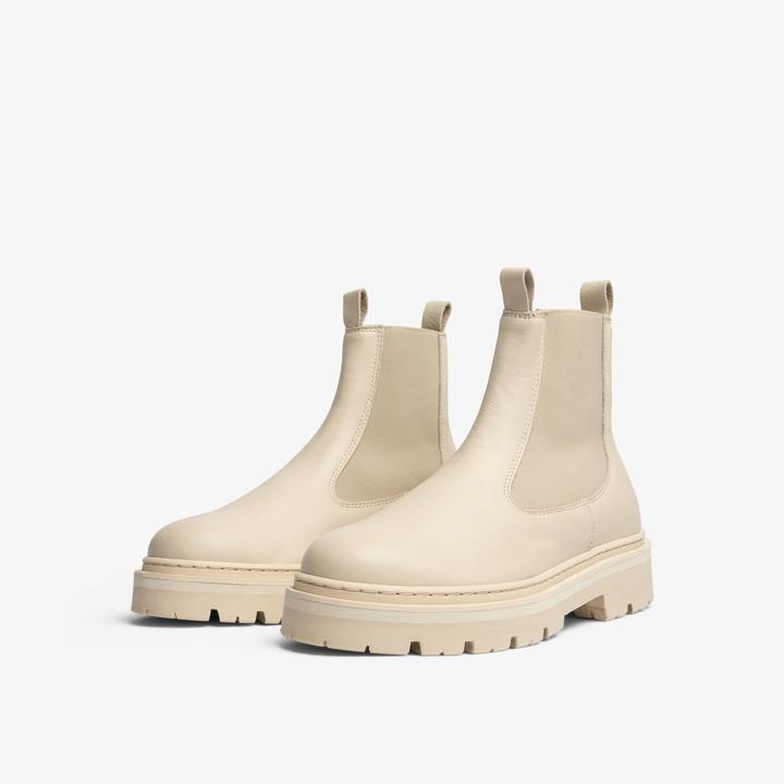 Jim Rickey Sparks Chelsea Boot - Cream
