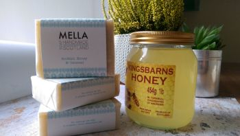 Scottish Honey and Oatmeal Bar Soap