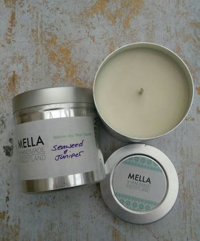 Seaweed and Juniper Soy Wax Candle