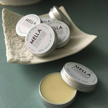 Honey and Hemp Lip Balm with Peppermint