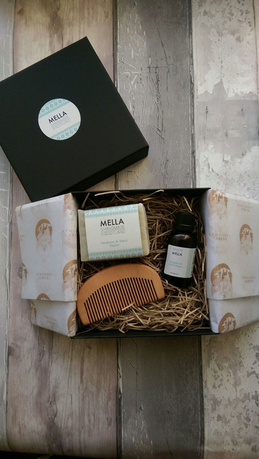 Mella Beard Oil Gift Box