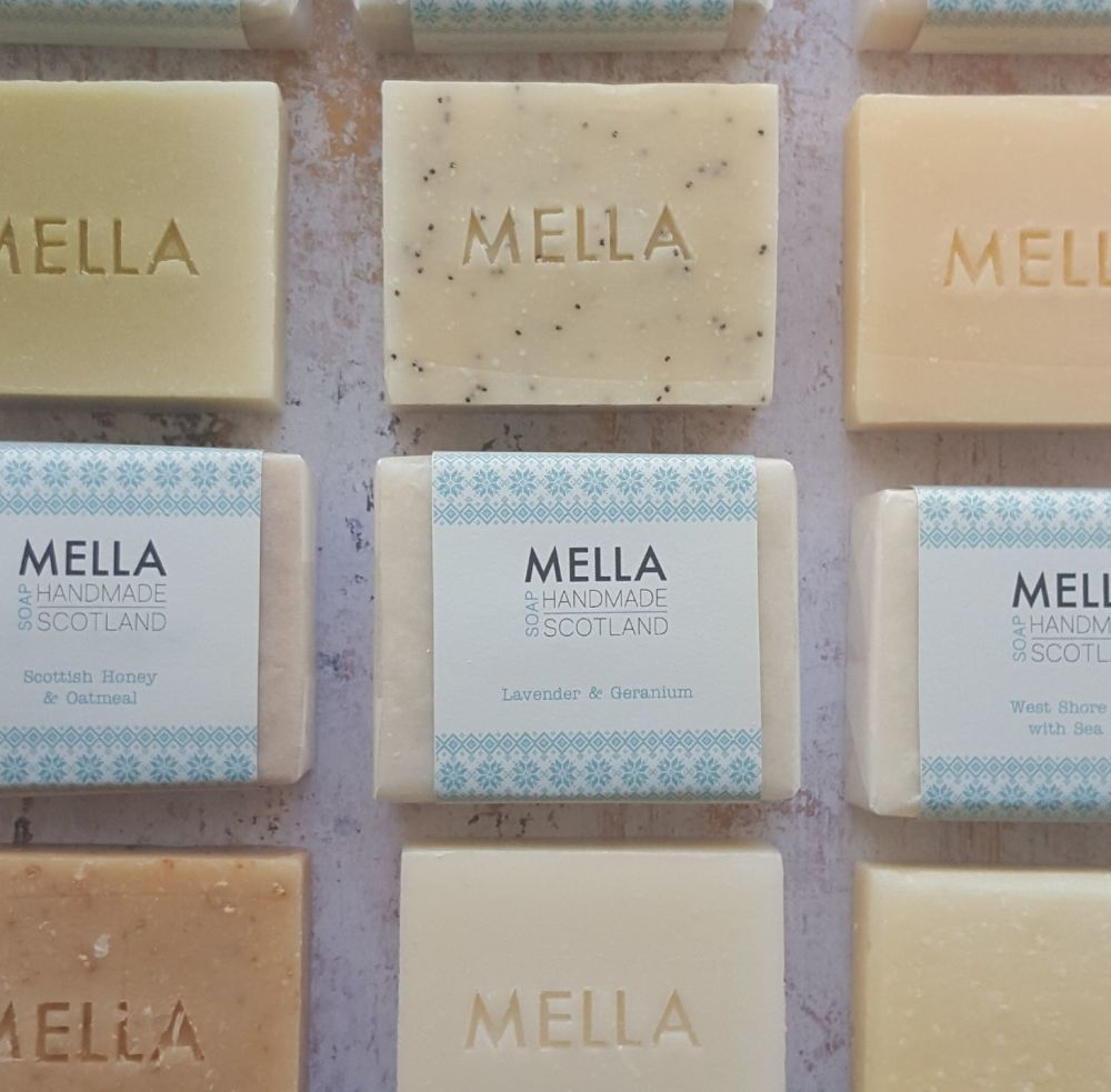 Three Mella Soaps