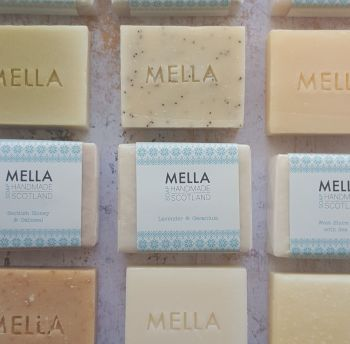 Three Mella Soaps