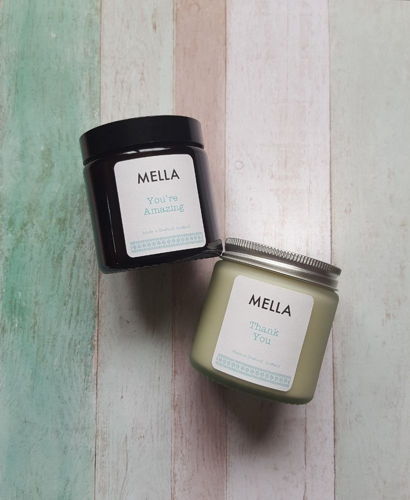 Peerie Message Soy Wax Candles
