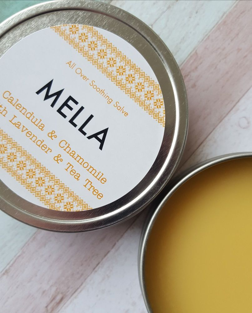 All-over soothing salve with chamomile and calendula