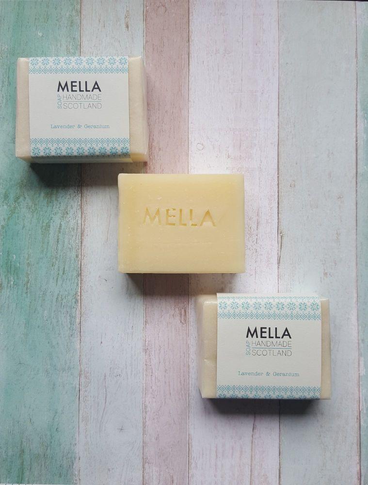 Lavender and Geranium Bar Soap