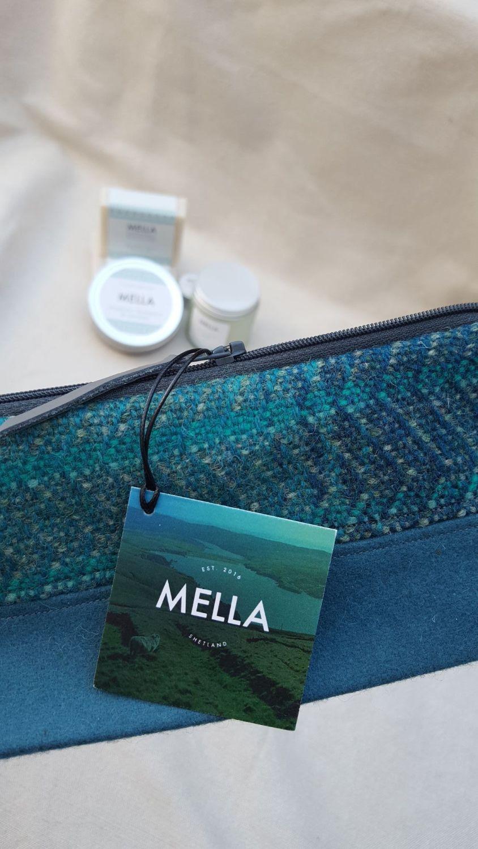 Shetland Tweed Bag plus selected Mella products