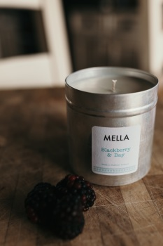 Large Blackberry and Bay Soy Wax Candle